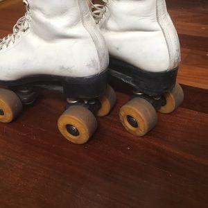 Vintage custom roller skates
